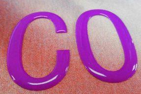 圆角透明印花硅胶