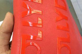 适合皮革丝印厚版硅胶,亮哑面效果,牢度强