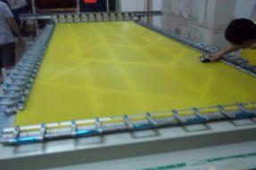 胶浆丝印过程中堵网版怎么办?