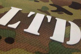 直角厚板透明印花硅胶